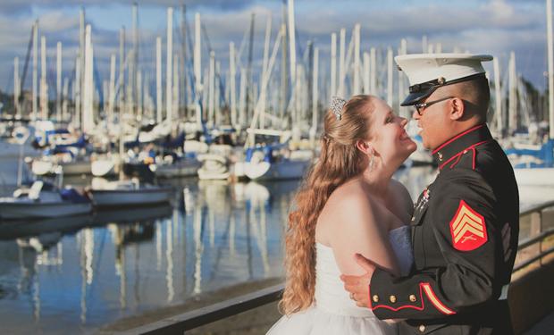 San Diego wedding at Humphreys Half Moon Inn by Ohana Photographers
