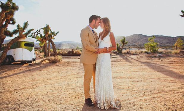 Joshua Tree Wedding at Rimrock Ranch by Ohana Photographers