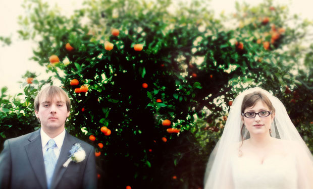 vintage wedding in San Diego California for Sarah and Evan