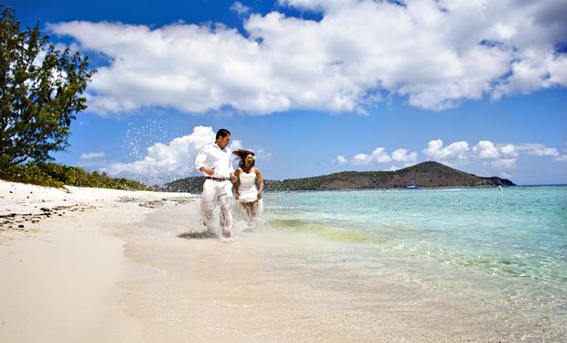 Island Destination Weddings on St John and St Thomas US Virgin Islands by Ohana Photographers